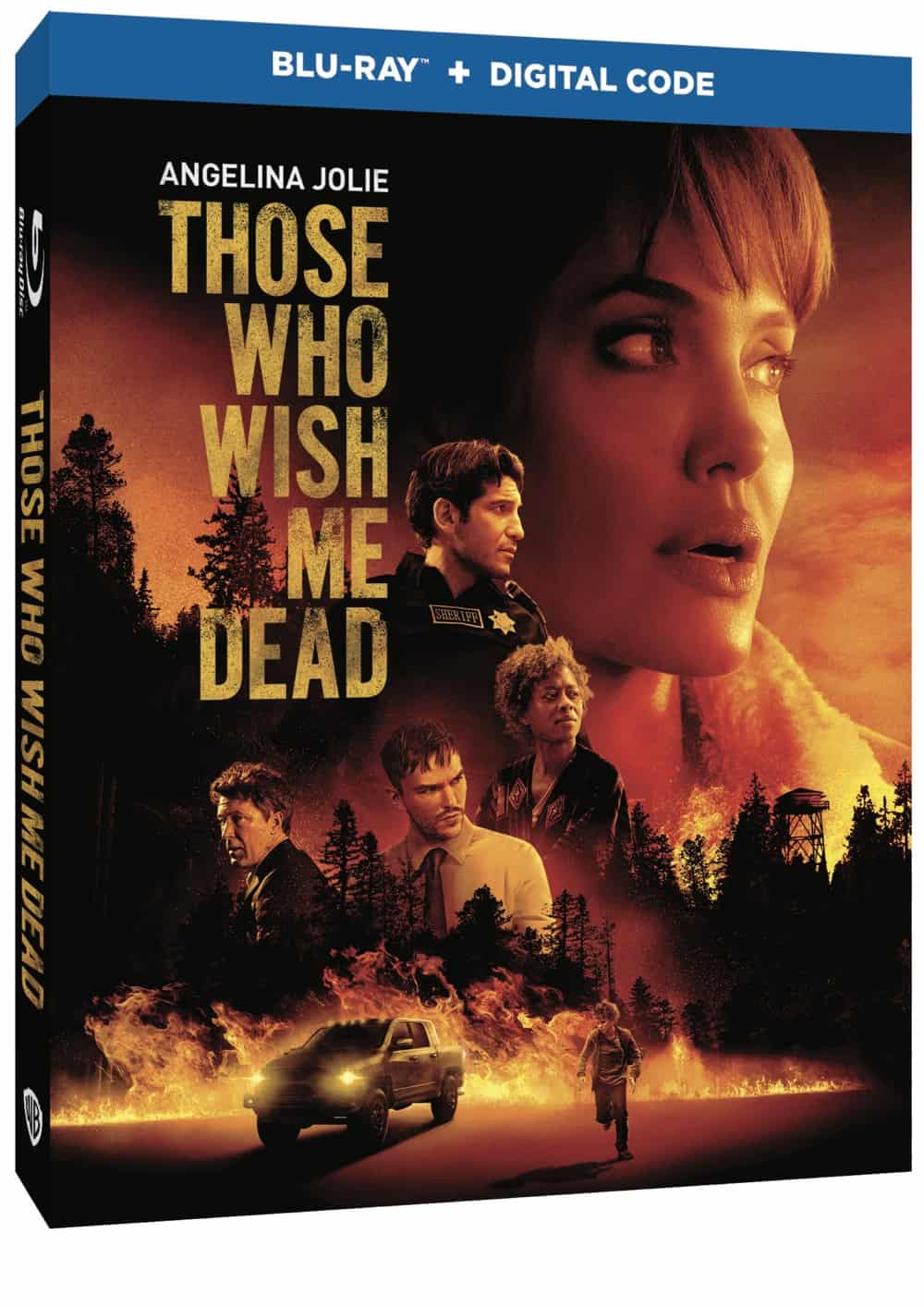Those Who Wish Me Dead Bluray Cover