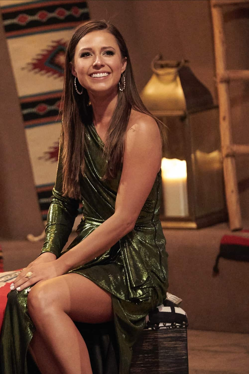 """THE BACHELORETTE SEASON 17 Episode 3 - """"1703"""" – Picking up during a heated cocktail party, Katie reminds the men that anyone not here for the right reasons can see themselves out. On the group date, former Bachelor Nick Viall helps the men share some of their personal stories. Moved by their honesty, Katie courageously opens up about her own story in a heart-wrenching moment. Later, Katie literally flips head over heels for her one-on-one date with Michael A., who opens up with a deeply heartfelt story of how he decided to follow his heart to New Mexico, and drama begins to boil over in the house. Is someone still here for the wrong reasons? An all-new """"The Bachelorette"""" airs MONDAY, JUNE 21 (8:00-10:00 p.m. EDT), on ABC. (ABC/Craig Sjodin) KATIE THURSTON"""