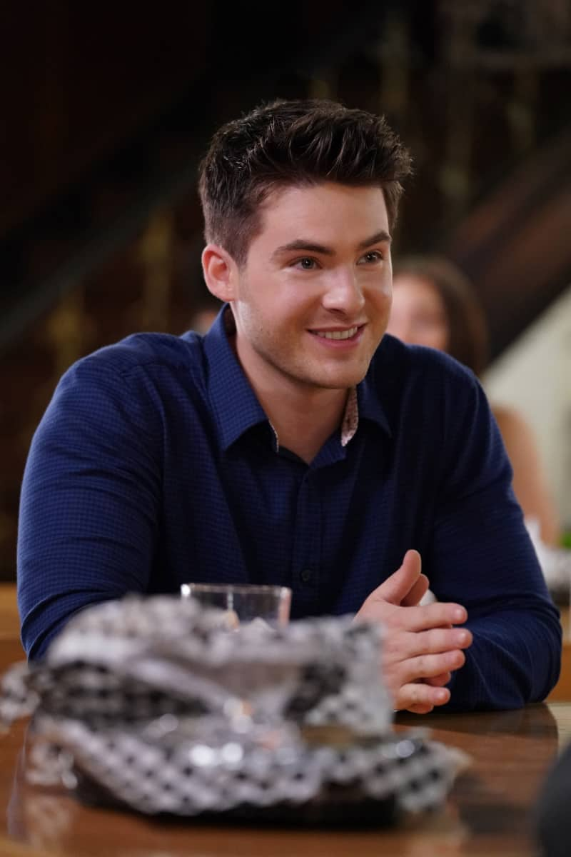 """ALL AMERICAN Season 3 Episode 15 -- """"After Hours"""" -- Image Number: ALA319a_0122r.jpg -- Pictured: Cody Christian as Asher  -- Photo: Bill Inoshita/The CW -- © 2021 The CW Network, LLC. All Rights Reserved"""