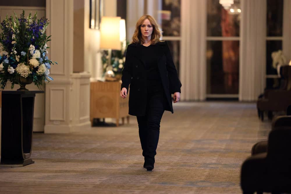 """GOOD GIRLS Season 4 Episode 11-- """"Put It All On Two"""" Episode 411 -- Pictured: Christina Hendricks as Beth Boland -- (Photo by: Jordin Althaus/NBC)"""