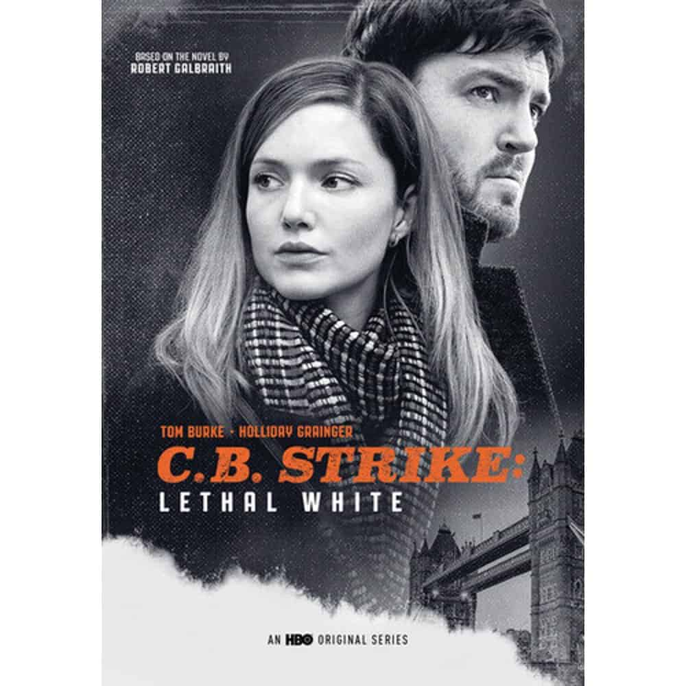 CB Strike Lethal White DVD Cover