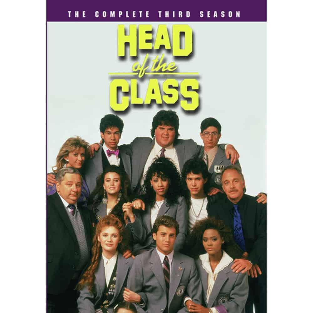 Head Of The Class Season 3 DVD Cover