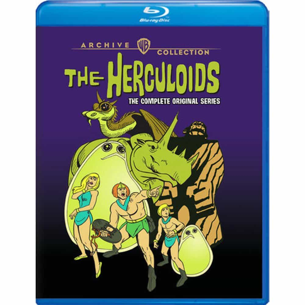 The Herculoids Complete Series Bluray Cover