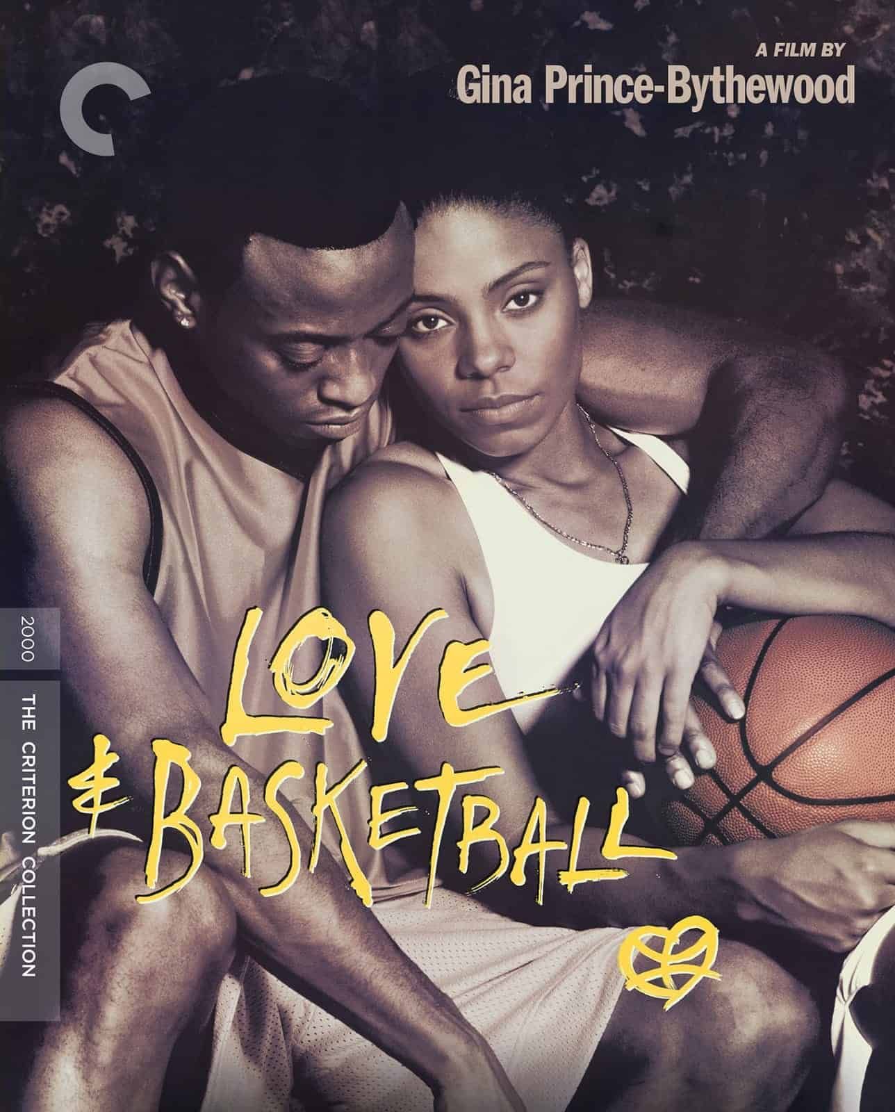 Love And Basketball Criterion Bluray Cover