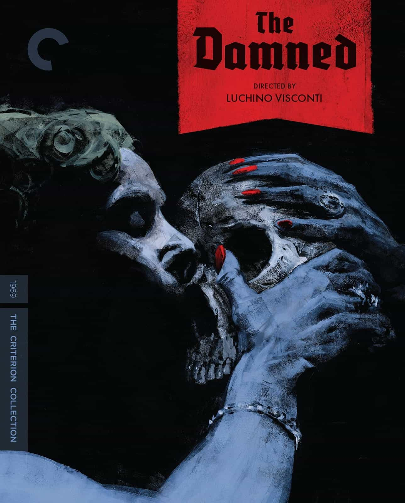 The Damned Criterion Collection Bluray Cover