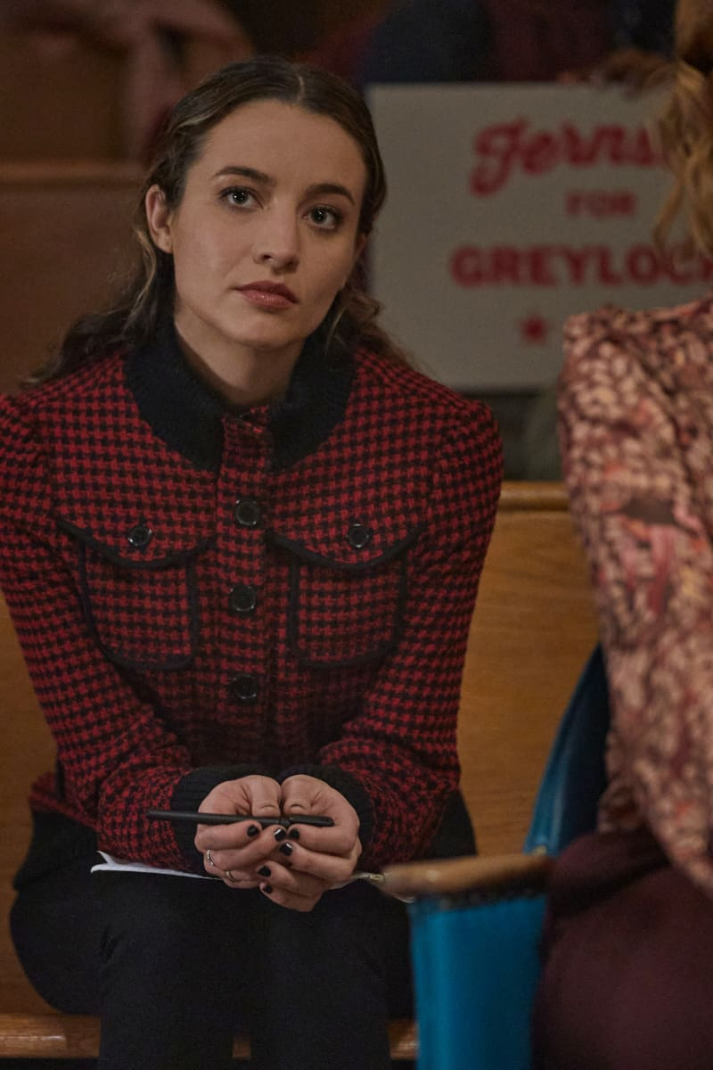 """THE REPUBLIC OF SARAH Season 1 Episode 6 -- """"A Show of Hands"""" -- Image Number: REP106a_0434r -- Pictured: Stella Baker as Sarah Cooper -- Photo: Philippe Bosse/The CW -- © 2021 The CW Network, LLC. All Rights Reserved."""