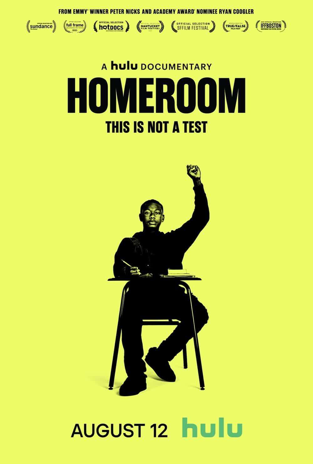 Homeroom Hulu Vertical Poster