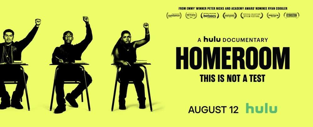 Homeroom Hulu Horizontal Poster
