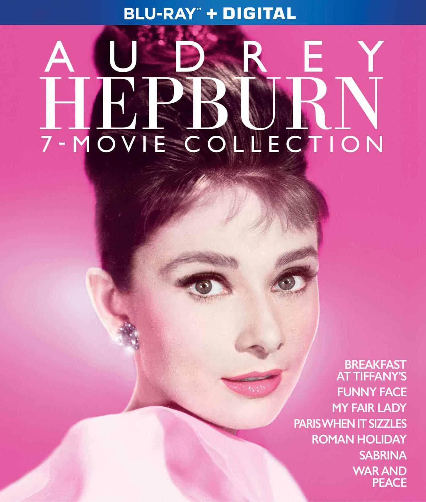 Audrey Hepburn 7 Film Collection Bluray