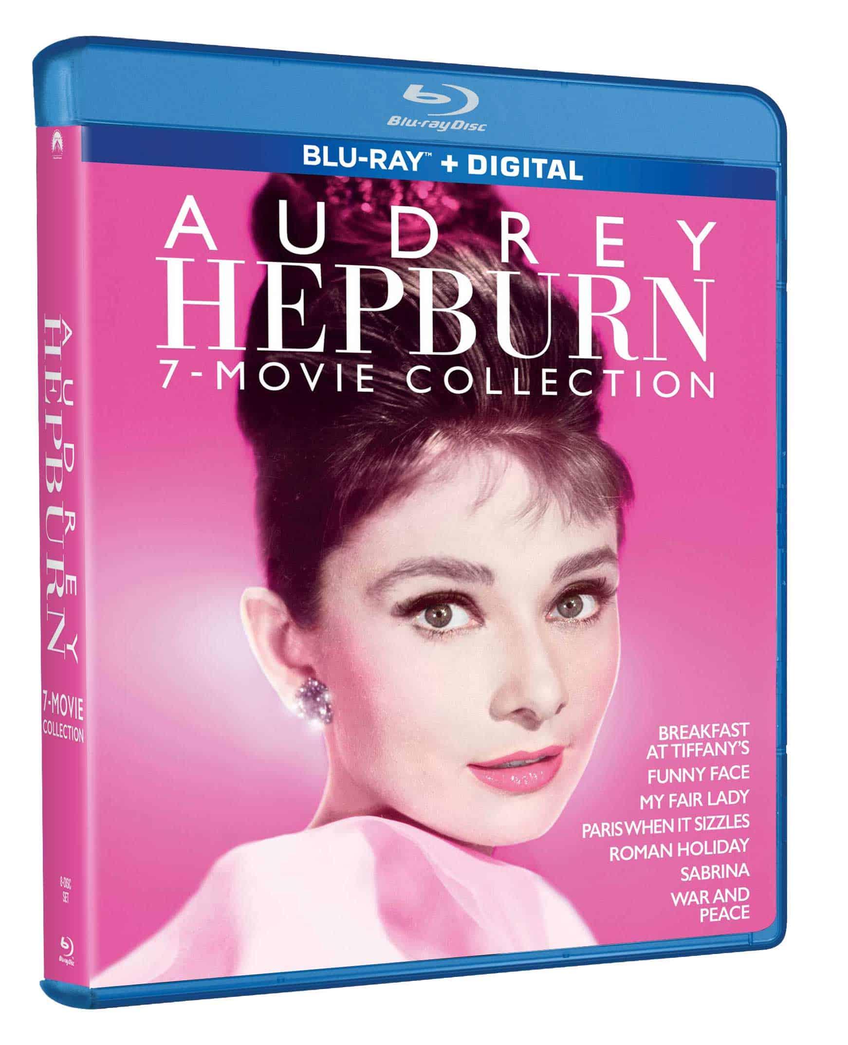 Audrey Hepburn 7 Film Collection Bluray 1