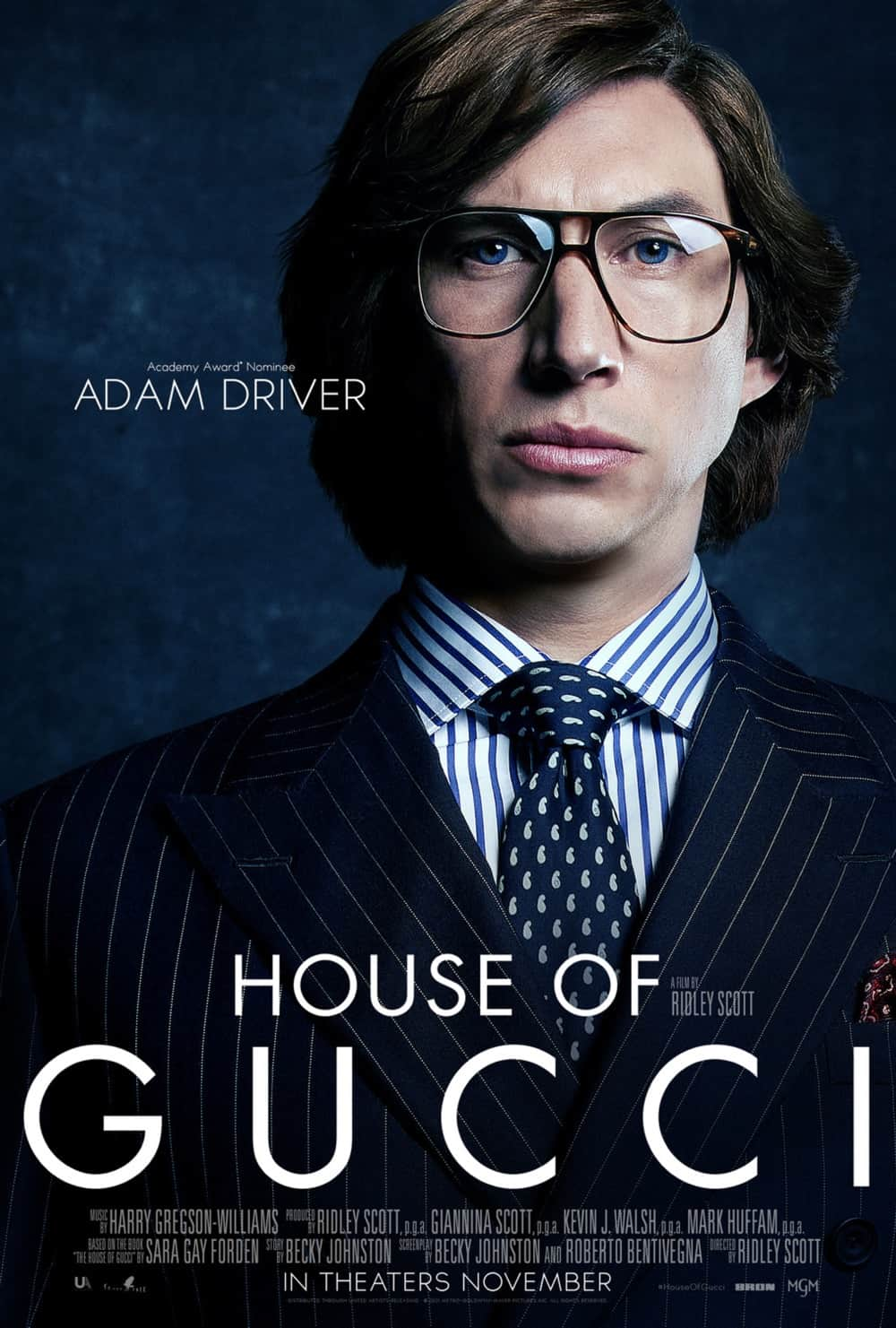 House Of Gucci Adam Driver Character Poster