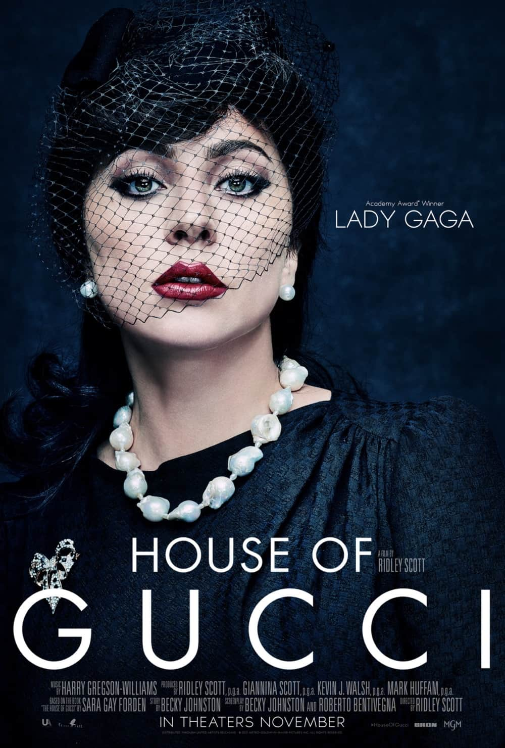 House Of Gucci Lady Gaga Character Poster