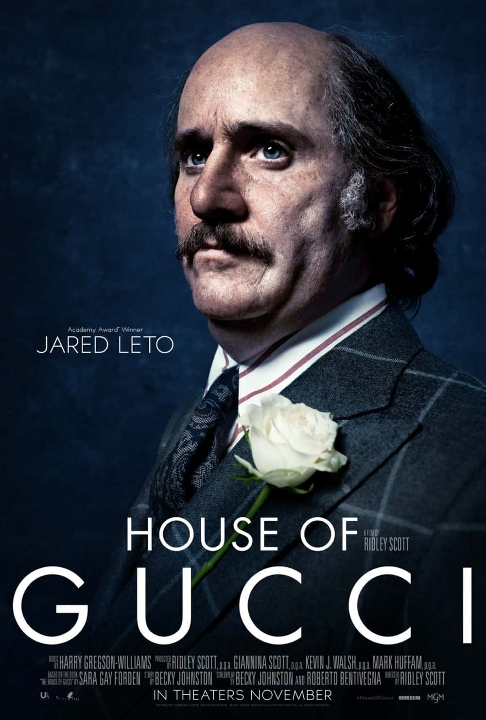 House Of Gucci Jared Leto Character Poster