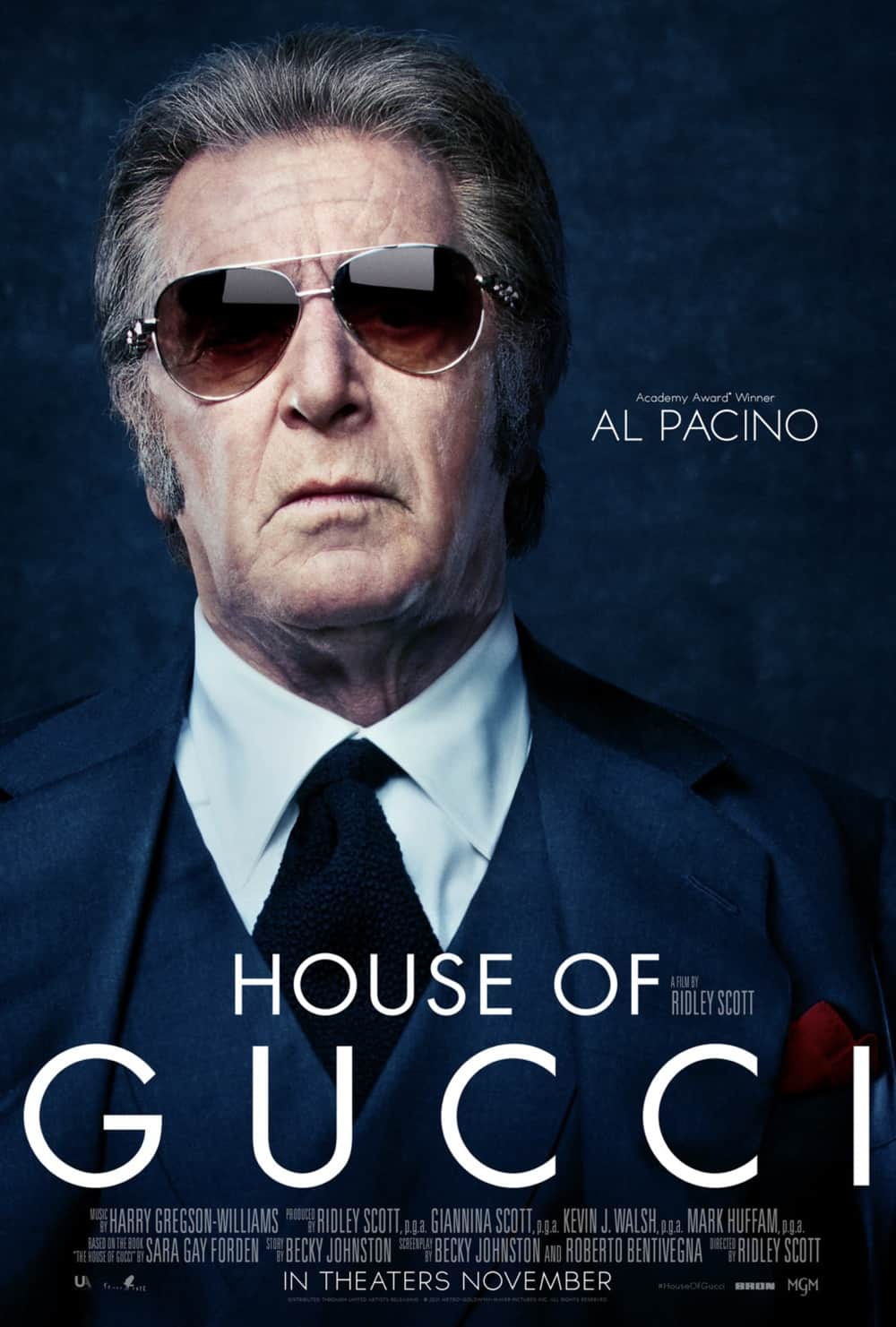 House Of Gucci Al Pacino Character Poster