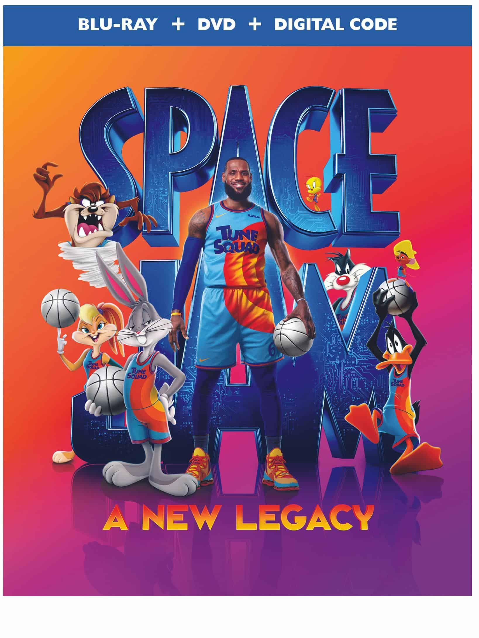 Space Jam A New Legacy Bluray Cover