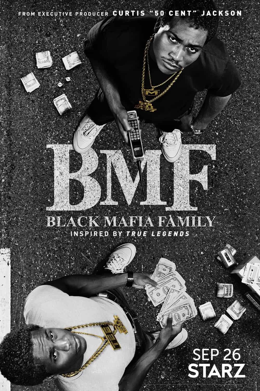 BMF Poster Key Art Starz TV Series