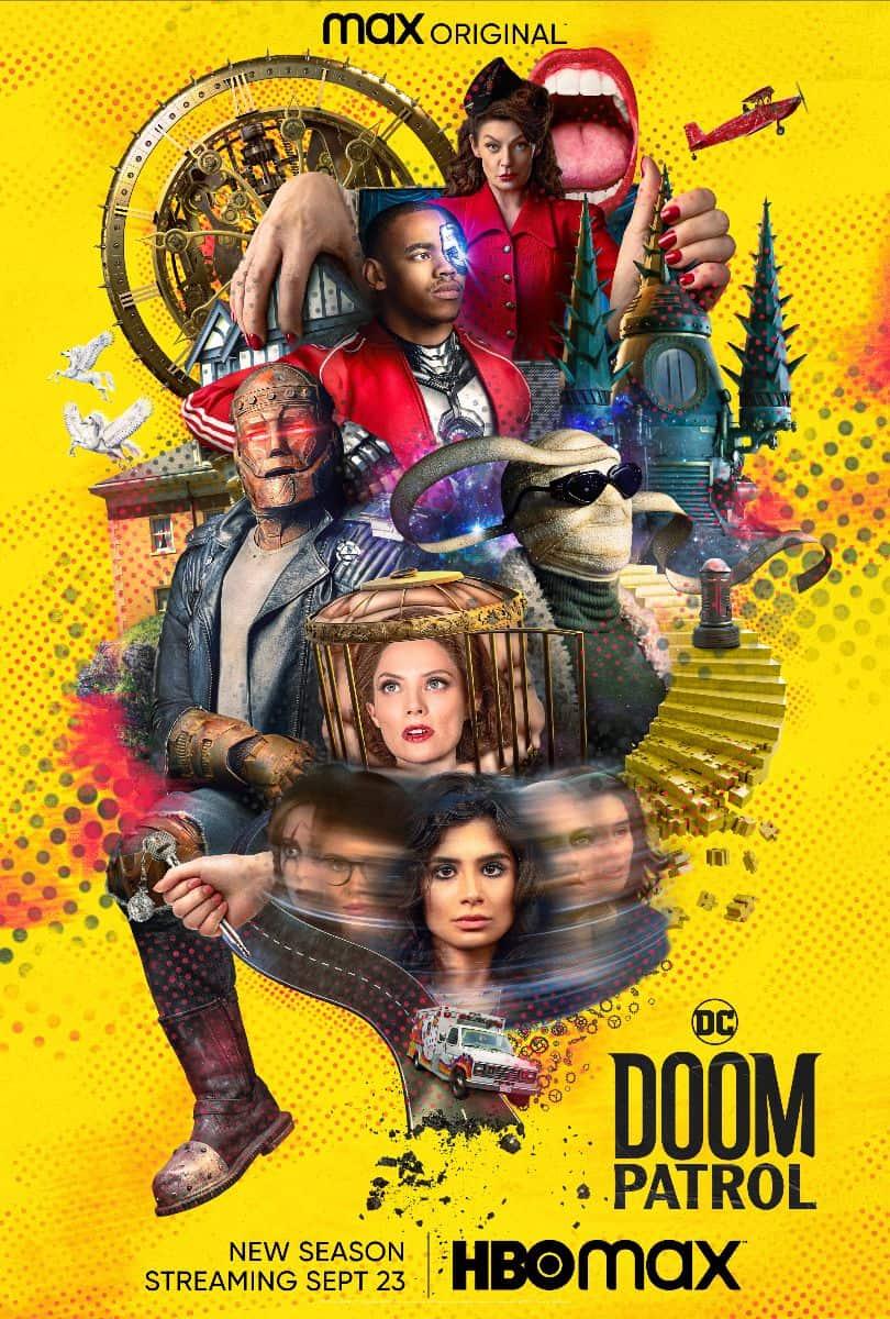 Doom Patrol Season 3 Poster Key Art