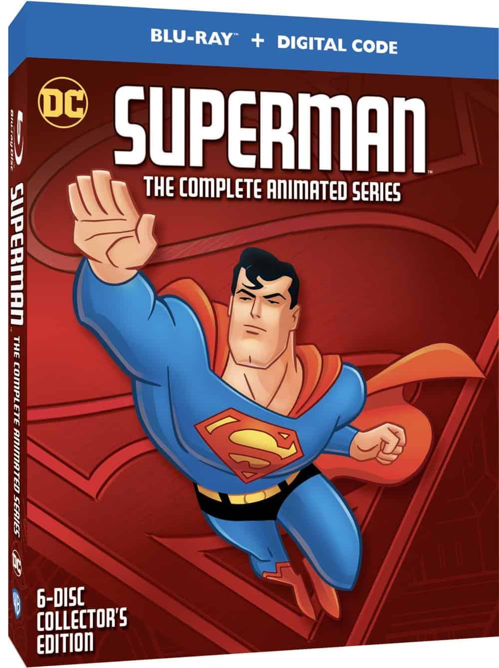 Superman Animated CS BD OSLV 3D