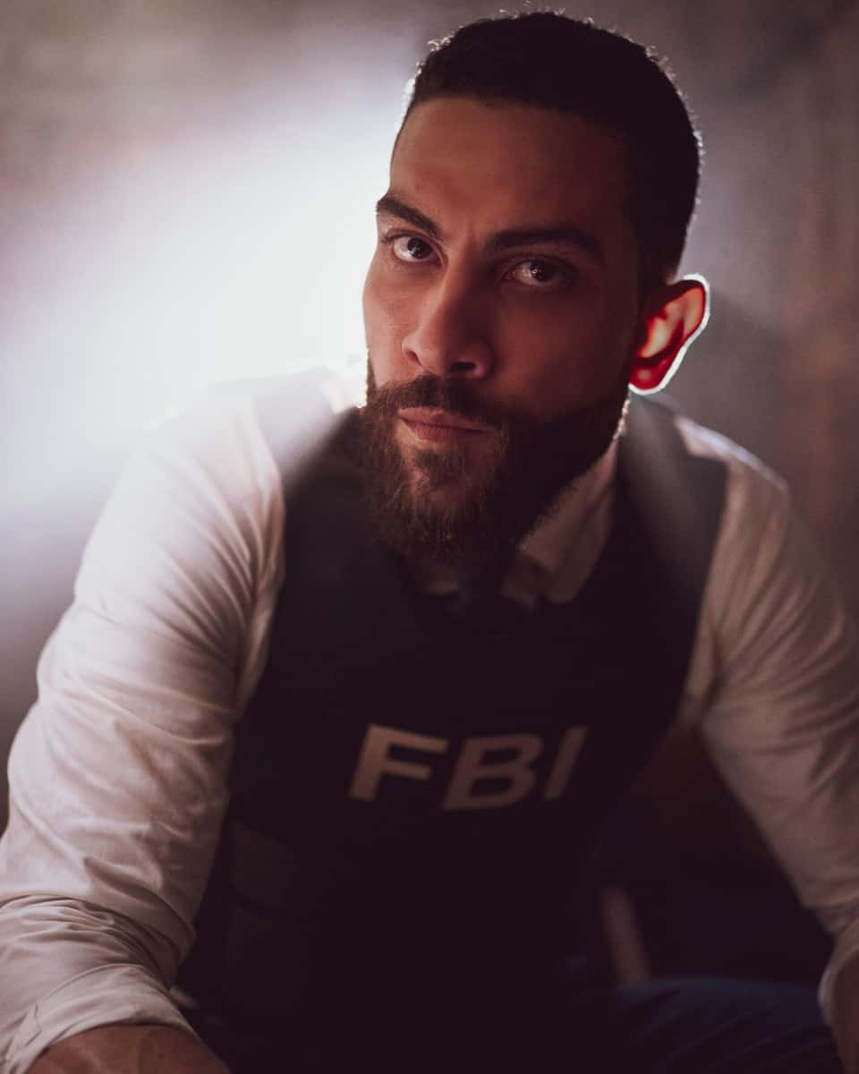 """FBI Season 4 Episode 1 """"All that Glitters"""" - After a young woman is killed on her way home from a lavish yacht party, the team investigates who she was and how she came to be at the event attended by some of the most influential people in the world. Also, Maggie brings Crosby (Kellan Lutz, FBI: MOST WANTED) into the investigation after a murder suspect is identified as a veteran who had been on several Army operations with Crosby, in the first part of a special three-part crossover event and the fourth season premiere of FBI, Tuesday, Sept. 21 (8:00-9:00 PM, ET/PT) on the CBS Television Network and available to stream live and on demand on the CBS app and Paramount+.  Pictured Zeeko Zaki as  Special Agent Omar Adom """"OA"""" Zidan Photo: Michael Parmelee/ 2021 CBS Broadcasting, Inc. All Rights Reserved."""
