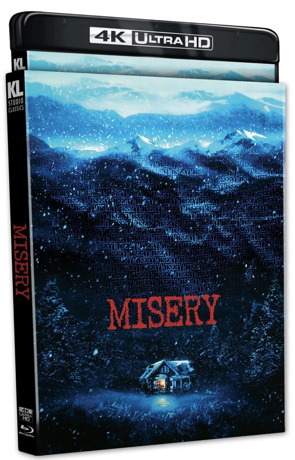 Misery 4k Cover Kino Lorber