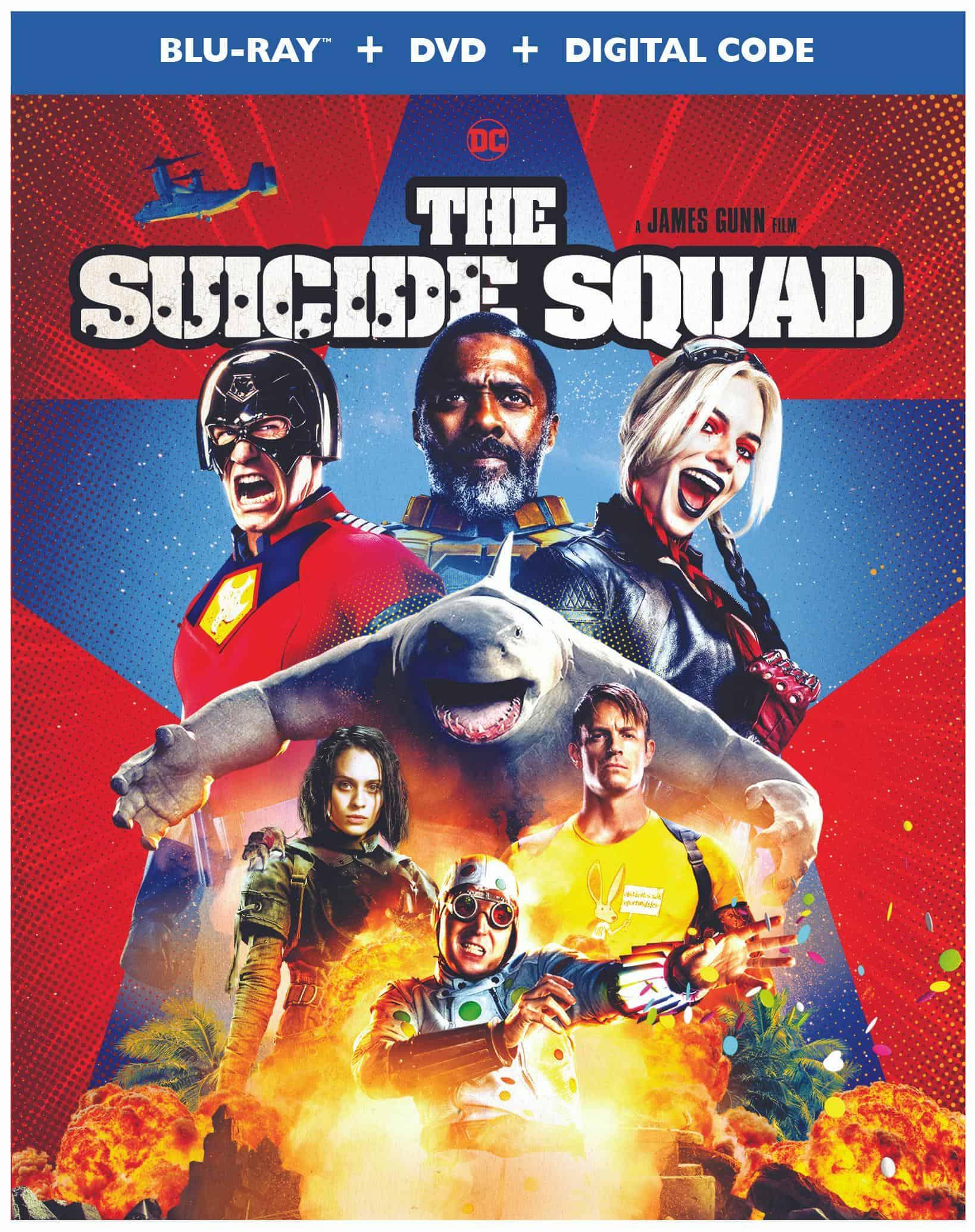 The Suicide Squad Bluray Cover