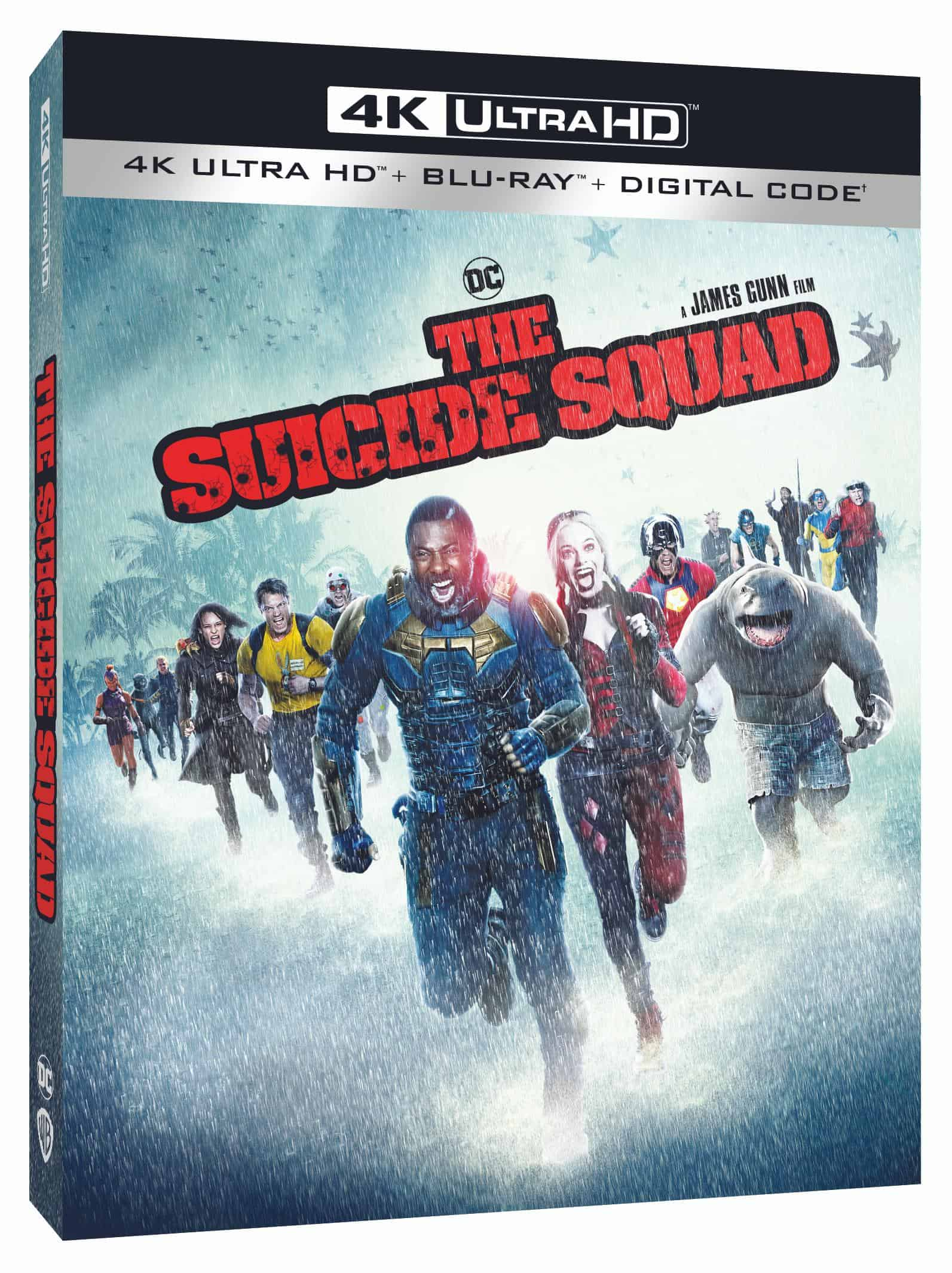 The Suicide Squad 4K Bluray Cover