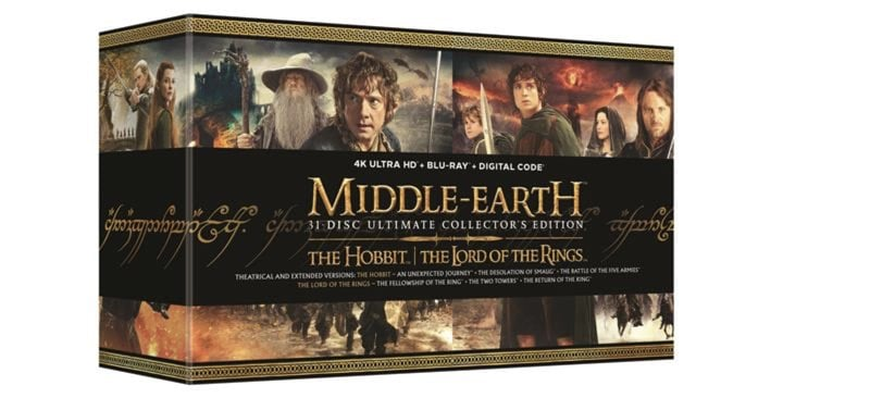 Middle Earth Ultimate Collectors Edition 4k
