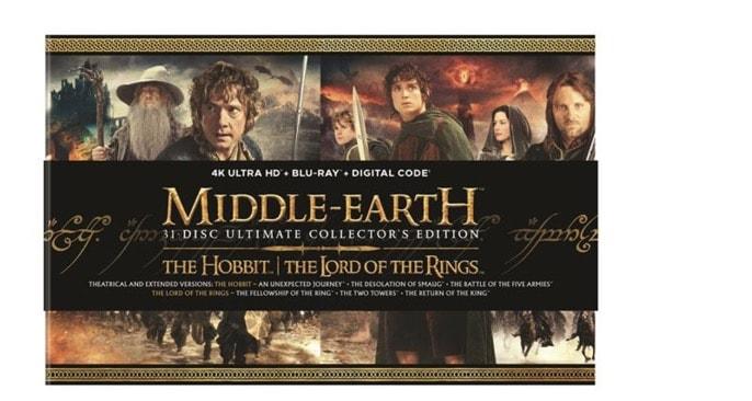 815116e5 Middle Earth Ultimate Collectors Edition 4k Bluray
