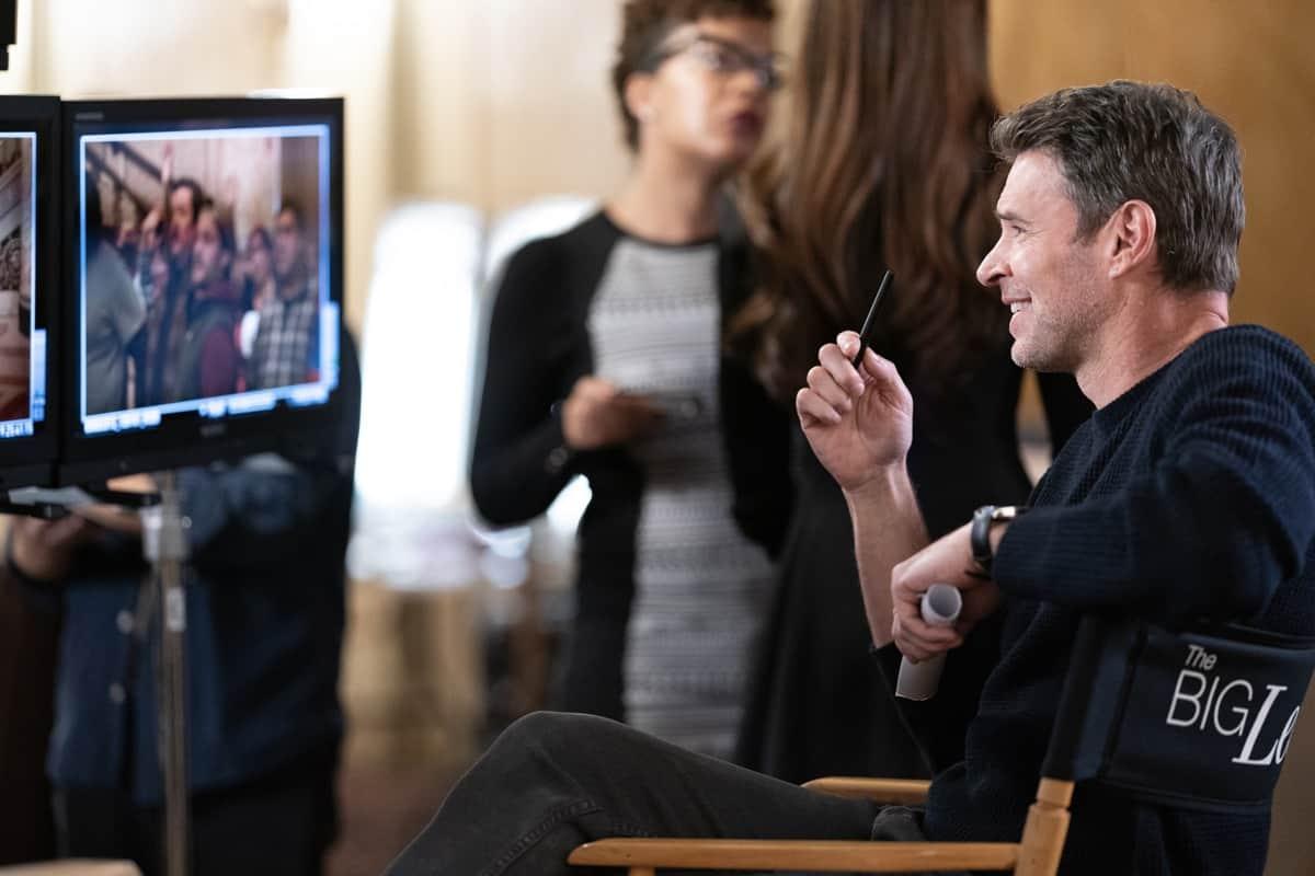 THE BIG LEAP Season 1 Episode 1: Scott Foley in the ìI Want You Backî series premiere episode of THE BIG LEAP airing Monday, Sept. 20 (9:00-10:00PM ET/PT) on FOX. © 2021 FOX Media LLC. CR: Sandy Morris/FOX.