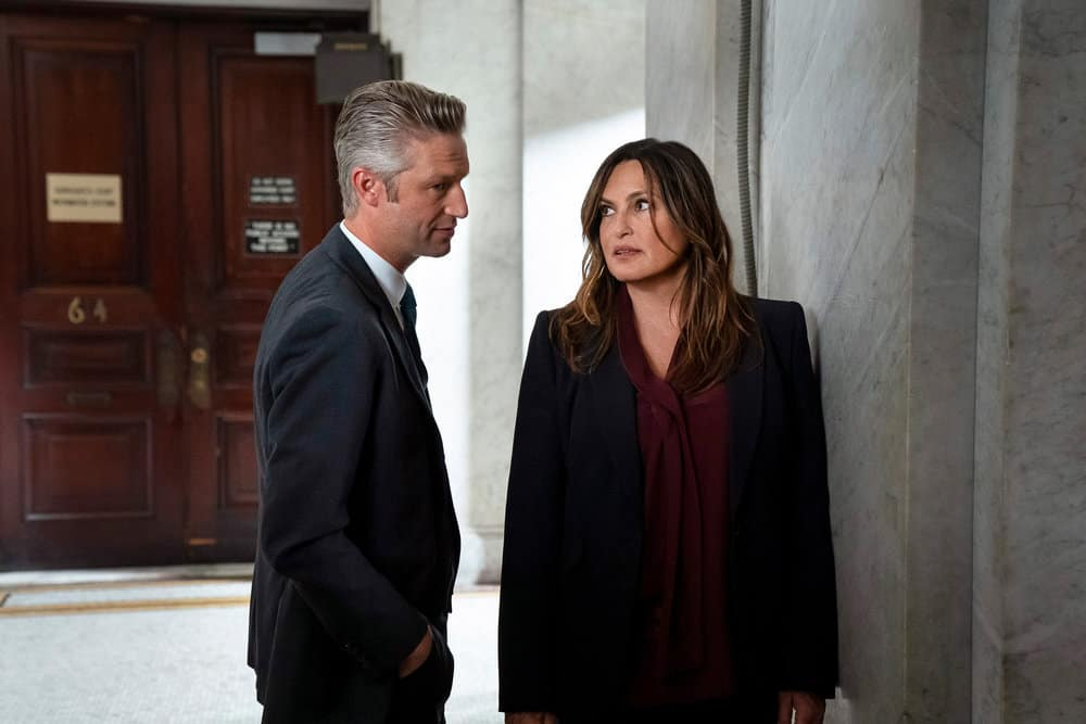 LAW AND ORDER SVU Season 23 Episode 1 Photos And The Empire Strikes Back
