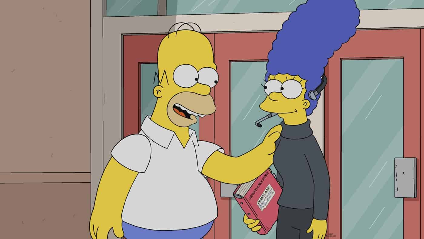 THE SIMPSONS Season 33 Episode 1 Photos The Star Of The Backstage
