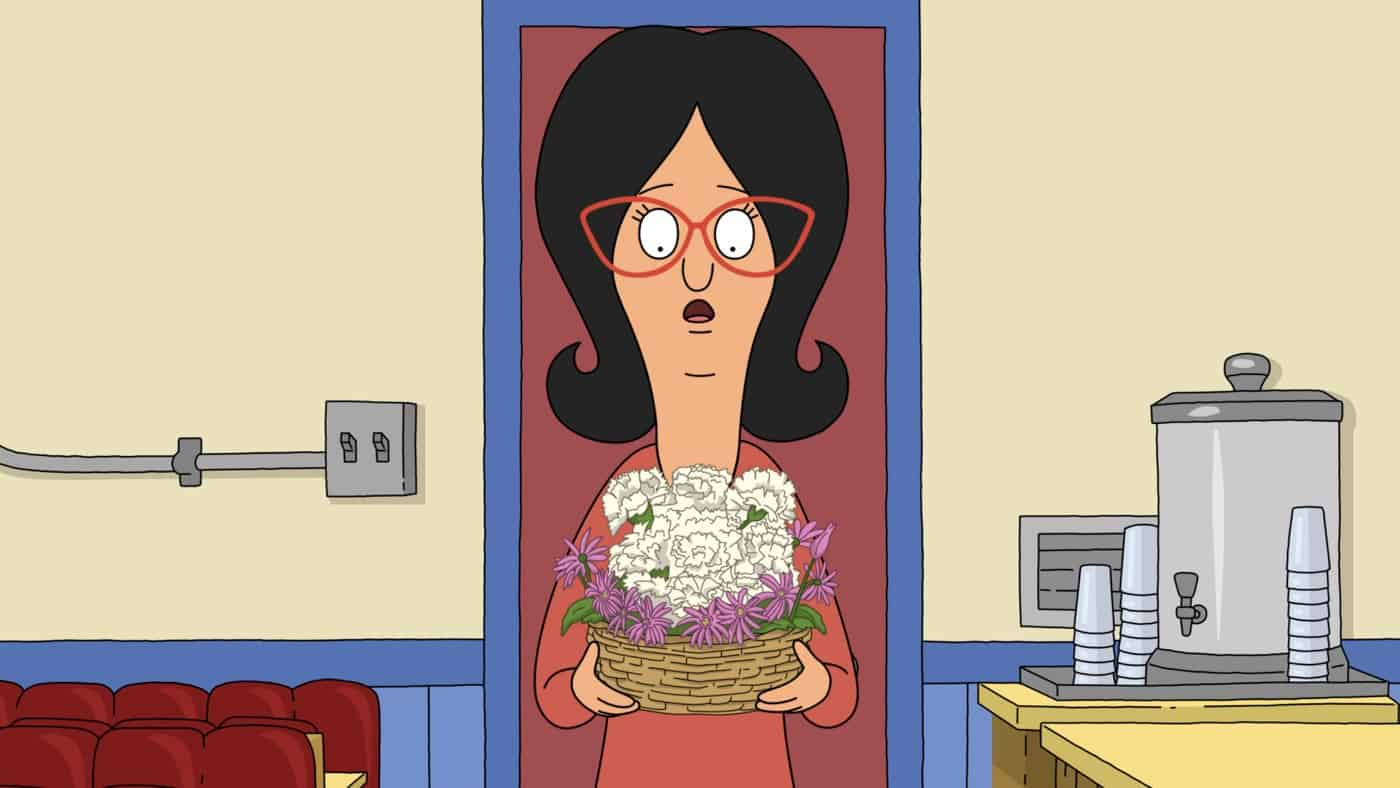 BOB'S BURGERS Season 12 Episode 1: Louise must pay a debt to Millie by attending the Pixie Princess Promenade. Meanwhile, a bouquet in the shape of a dog forces Linda to confront her past in the ìManic Pixie Crap Showî season premiere episode of BOBíS BURGERS airing Sunday, Sept. 26 (9:00-9:30 PM ET/PT) on FOX. BOBíS BURGERS © 2021 by 20th Television.
