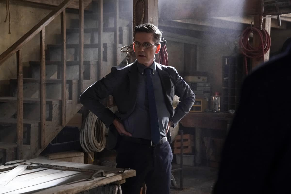 """NCIS Season 19 Episode 2 """"Nearly Departed"""" – While trying to find the serial killer Gibbs had been after, the NCIS team discover another person has been tracking the case as well, on NCIS, Monday, Sept. 27 (9:00-10:00 PM, ET/PT) on the CBS Television Network. Gary Cole joins the cast as FBI Special Agent Alden Parker. Pictured:  Brian Dietzen as Medical Examiner Jimmy Palmer.  Photo: Cliff Lipson/CBS ©2021 CBS Broadcasting, Inc. All Rights Reserved."""