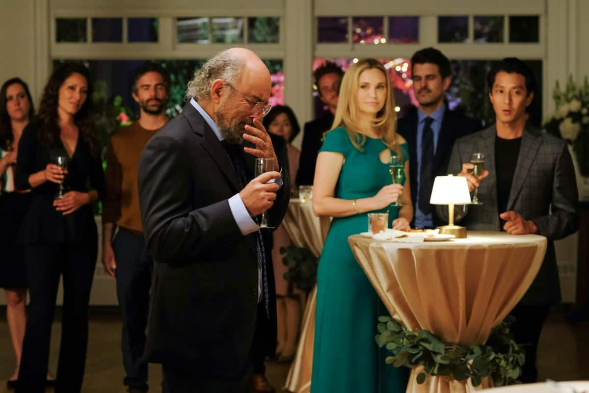 """THE GOOD DOCTOR Season 5 Episode 1- """"New Beginnings"""" – Shaun and Lea's upcoming engagement party has everyone in a festive mood after their return from Guatemala. Meanwhile, a young single mother learns her son may have contracted his cancer from a surprising source, and Mateo finds out if his previous issues in America will be resolved on the season premiere of """"The Good Doctor,"""" MONDAY, SEPT. 27 (10:01-11:00 p.m. EDT), on ABC. (ABC/Jeff Weddell) RICHARD SCHIFF"""