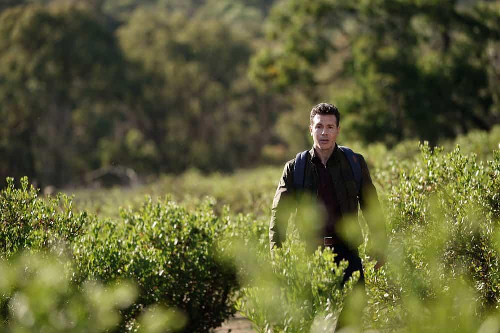"LA BREA Season 1 Episode 1 -- ""Pilot"" -- Pictured: Jon Seda as Dr. Samuel Valez -- (Photo by: Sarah Enticknap/NBC)"