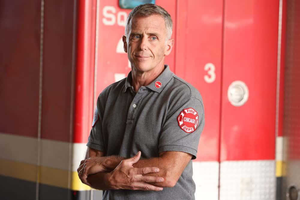 "CHICAGO FIRE Season 10 Episode 2 -- ""Headcount"" Episode 1002 -- Pictured: David Eigenberg as Christopher Herrmann -- (Photo by: Adrian S. Burrows Sr./NBC)"