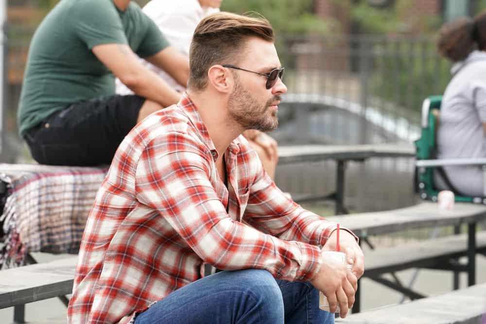 "CHICAGO PD Season 9 Episode 2-- ""Rage"" Episode 902 -- Pictured: Patrick John Flueger as Adam Ruzek -- (Photo by: Lori Allen/NBC)"