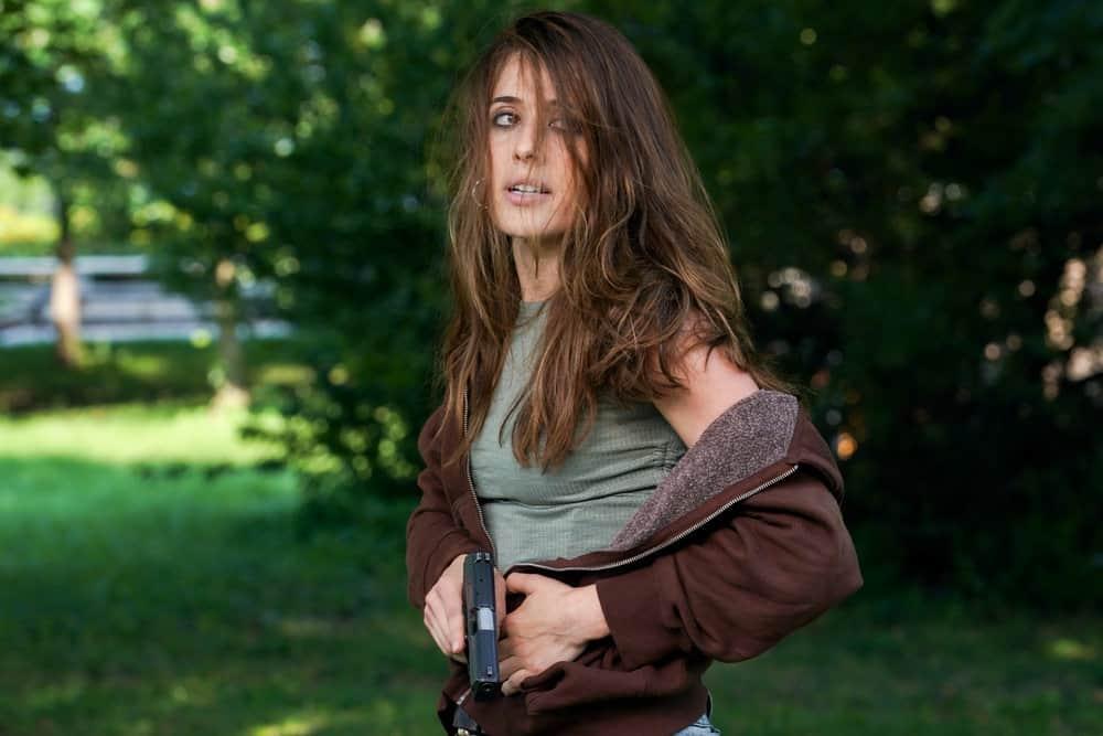 "CHICAGO PD Season 9 Episode 2-- ""Rage"" Episode 902 -- Pictured: Marina Squerciati as Kim Burgess -- (Photo by: Lori Allen/NBC)"