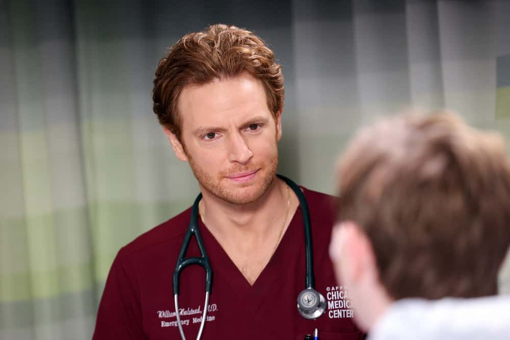 """CHICAGO MED Season 7 Episode 2 -- """"To Lean In Or To Let Go"""" Episode 702 -- Pictured: Nick Gehlfuss as Dr. Will Halstead -- (Photo by: George Burns Jr/NBC)"""