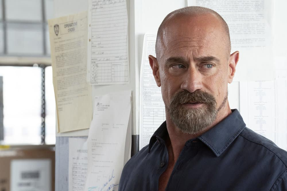 """LAW AND ORDER SVU Season 23 Episode 3 -- """"I Thought You Were on My Side"""" Episode 23002 -- Pictured: Christopher Meloni as Detective Elliot Stabler -- (Photo by: Virginia Sherwood/NBC)"""