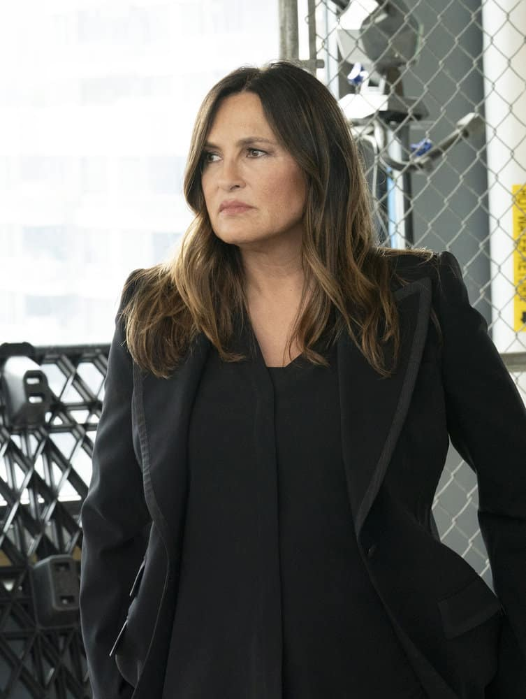 """LAW AND ORDER SVU Season 23 Episode 3 -- """"I Thought You Were on My Side"""" Episode 23002 -- Pictured: Mariska Hargitay as Captain Olivia Benson -- (Photo by: Virginia Sherwood/NBC)"""