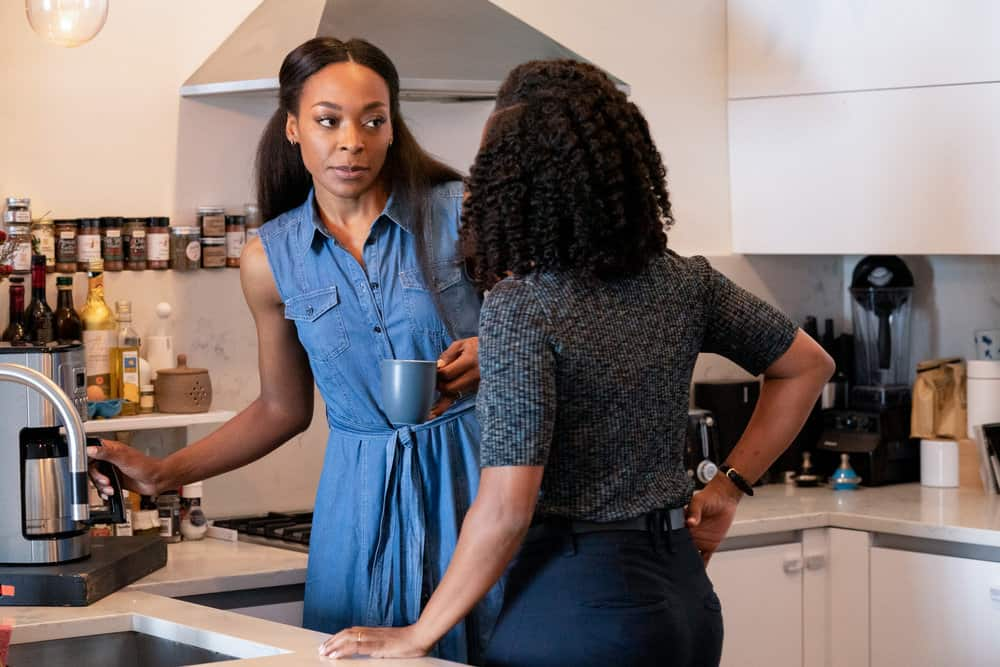 """LAW AND ORDER ORGANIZED CRIME Season 2 Episode 3 -- """"The Outlaw Eddie Wagner"""" Episode 203 -- Pictured: Keren Dukes as Denise Bullock -- (Photo by: Virginia Sherwood/NBC)"""