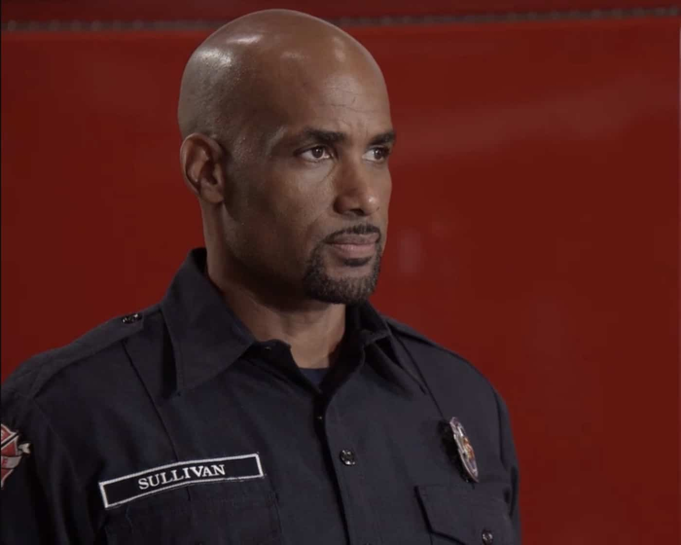 """STATION 19 Season 5 Episode 1 - """"Phoenix from the Flame"""" – Relationships are challenged at Station 19 following Sullivan's actions at Maya and Carina's wedding, putting his marriage with Andy to the test. Dean comes to terms with his feelings for Vic, while Travis rekindles an old flame. The annual Phoenix Festival brings out some reckless behavior in some of Seattle's citizens, challenging the teams at Station 19 and Grey Sloan Memorial in the season premiere of """"Station 19,"""" THURSDAY, SEPT. 30 (8:00-9:00 p.m. EDT), on ABC. (ABC) BORIS KODJOE"""