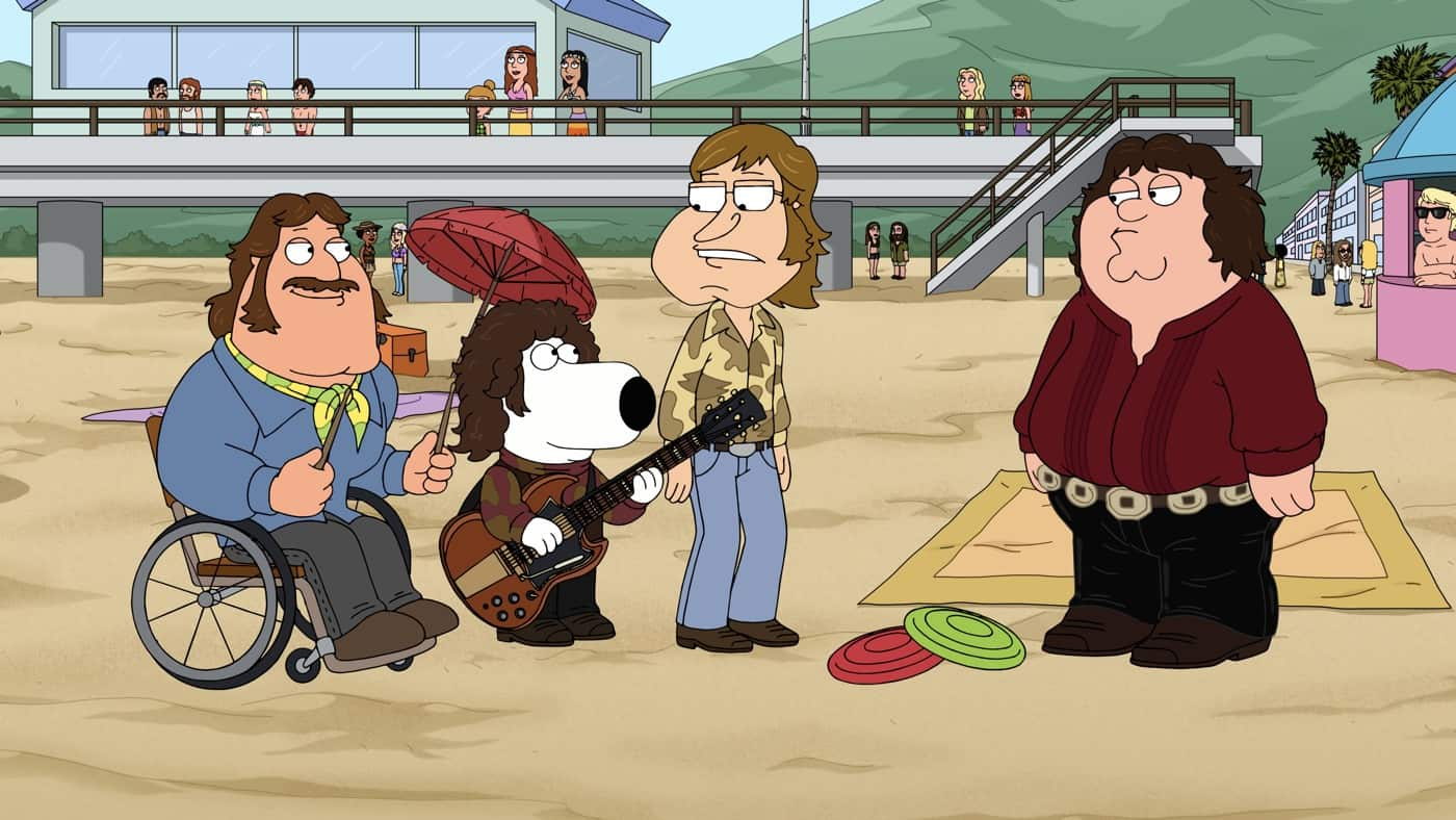 FAMILY GUY Season 20 Episode 2 Photos Rock Hard