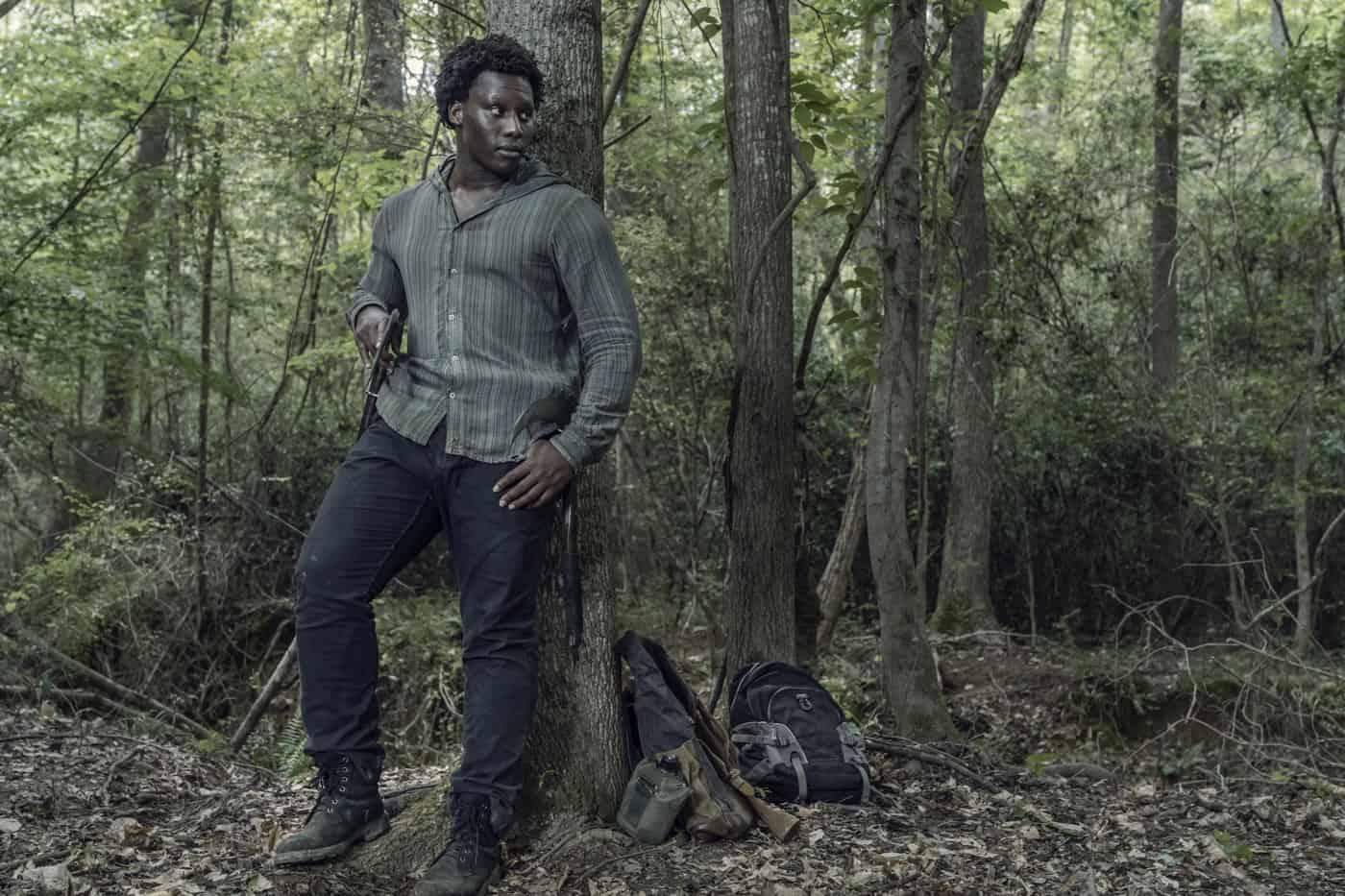 THE WALKING DEAD Season 11 Episode 7 Okea Eme-Akwari as Elijah - The Walking Dead _ Season 11, Episode 7 - Photo Credit: Josh Stringer/AMC
