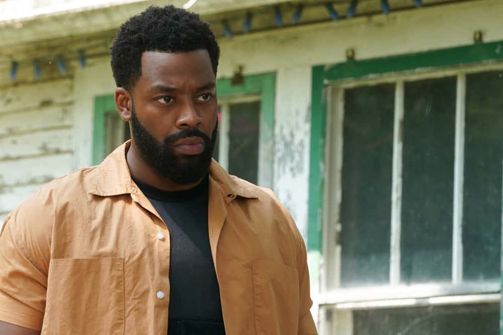 """CHICAGO PD Season 9 Episode 3 -- """"The One Next to Me"""" Episode 903 -- Pictured: LaRoyce Hawkins as Kevin Atwater -- (Photo by: Lori Allen/NBC)"""