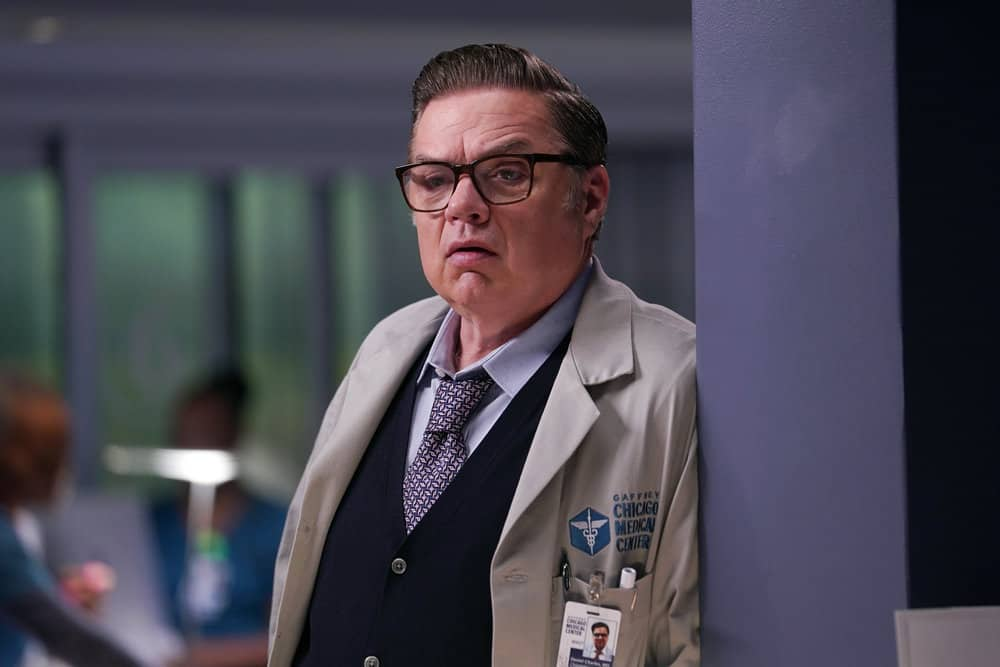"""CHICAGO MED Season 7 Episode 3 -- """"Be The Change You Want To See"""" Episode 703 -- Pictured: Oliver Platt as Daniel Charles -- (Photo by: Lori Allen/NBC)"""