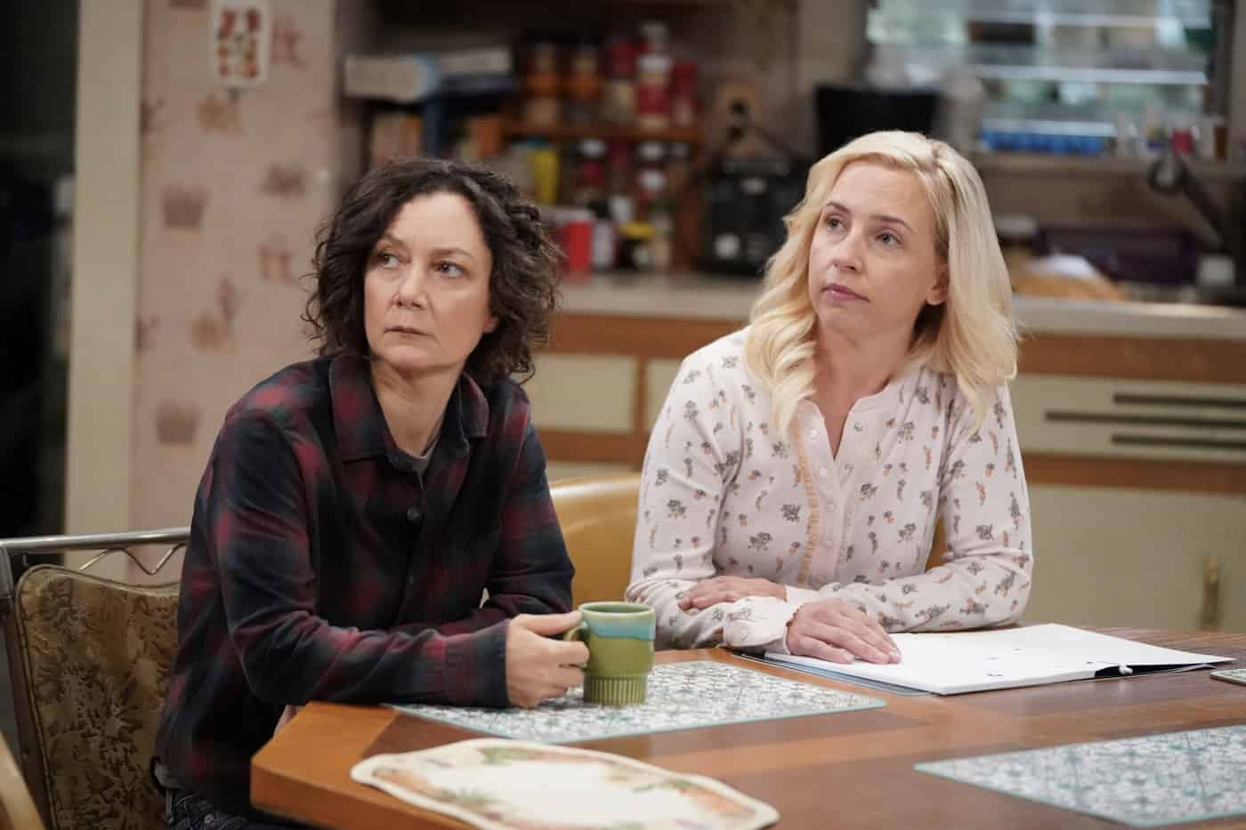 THE CONNERS Season 4 Episode 3 Photos Sober Sex, Plastic Silverware, And Losing My Religion