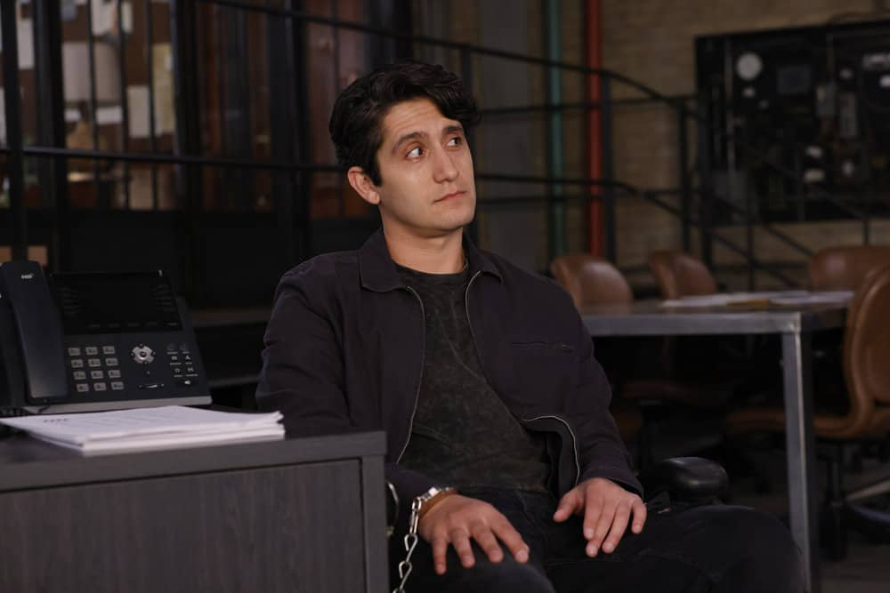 """LAW AND ORDER ORGANIZED CRIME Season 2 Episode 4 -- """"For A Few More Leke More"""" Episode 204 -- Pictured: Wesam Keesh as Malachi -- (Photo by: Will Hart/NBC)"""