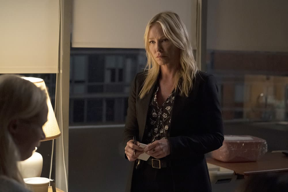 """LAW AND ORDER SVU Season 23 Episode 4 -- """"One More Tale of Two Victims"""" Episode 23004 -- Pictured: Kelli Giddish as Detective Amanda Rollins -- (Photo by: Heidi Gutman/NBC)"""